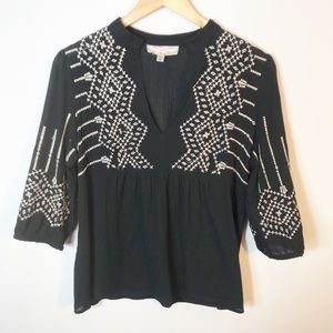 UO Ecote | Embroidered Boho Top